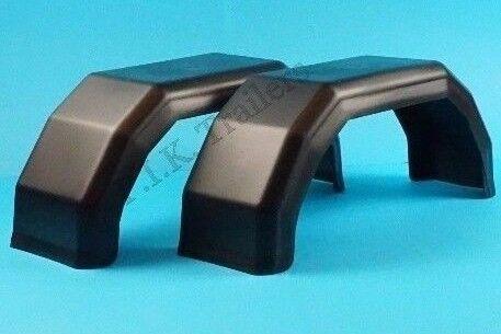 """2 X 8/"""" Plástico Guardabarros para Single Axle remolques para caber 8/"""" ruedas"""