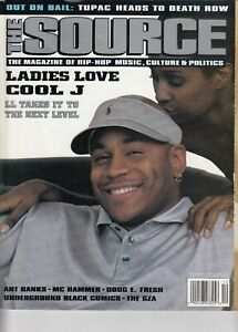 Details about The Source HipHop magazine issue #75, December 95 (LL Cool J  cover)