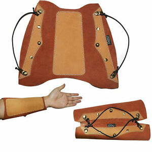Archery-Arm-Guard-Traditional-Leather-for-Hunting-Shooting-Recurve-Longbow-Bow