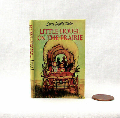 1:24 SCALE MINIATURE BOOK LITTLE HOUSE ON THE PRAIRIE LAURA INGALLS WILDER