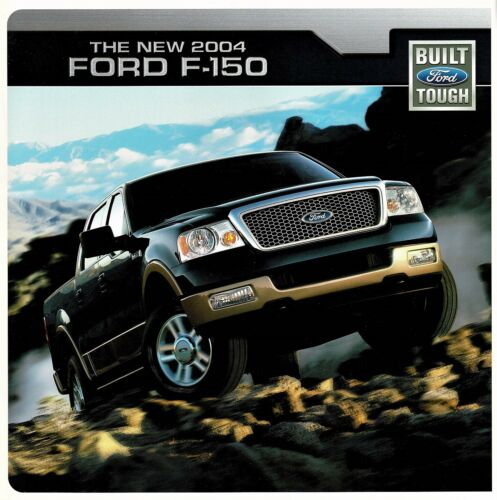 2004 Ford F-150 XL SXT XLT FX4 Lariat Pickup Truck Dealer Sales Brochure