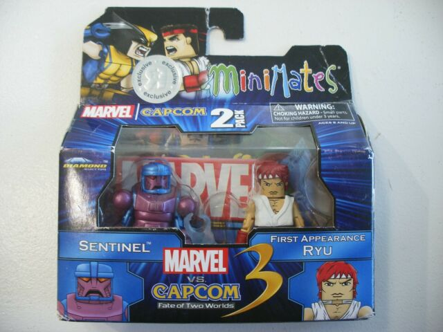 Marvel vs Capcom 3 Minimates TRU Toys R Us Wave 2 Sentinel