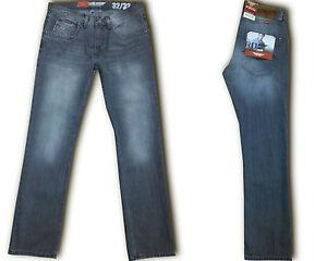 Hero-BOSTON-Herren-Jeans-Hose-STRAIGHT-FIT-Super-Grey-Wash