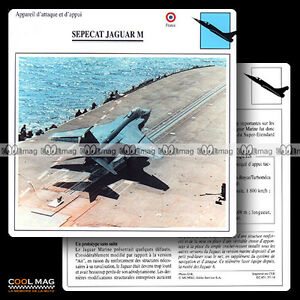 057-14-SEPECAT-JAGUAR-M-Fiche-Avion-Airplane-Card