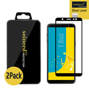 2-Pack-Tempered-Glass-Screen-Protector-FULL-COVER-For-Samsung-Galaxy-J8-On8-2018