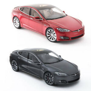 Tesla 1 >> New Tesla Diecast 1 18 Scale Model S P100d Toy Display Car Mint
