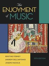 The Enjoyment of Music 12th E by Machlis, Forney, Dell'Antonio; NO ACCESS CODE