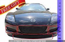 GTG 2004 - 2008 Mazda RX8 Shinka Edition 7PC Gloss Black Billet Grille Grill Kit