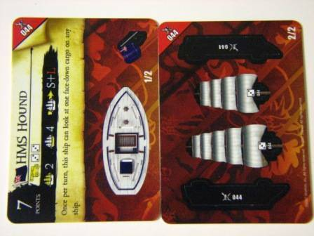 Pirates PocketModel Game 044 HMS HOUND