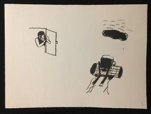 Hyun-Sook-Song-Reise-Lithographie-1982-handsigniert