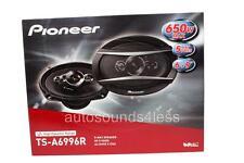 "New Pioneer TS-A6996R 650 Watts 6"" x 9"" 5-Way Coaxial Car Audio Speakers 6x9"""