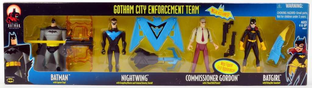 The New Batman Adventures GOTHAM CITY ENFORCEMENT TEAM boxed figure set Hasbro