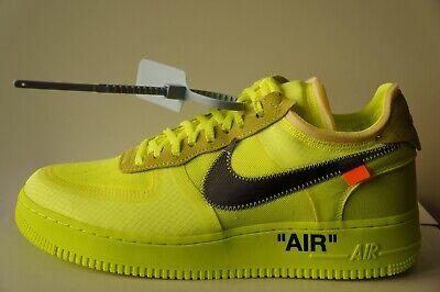 Nike Air Force 1 Off White Volt AO4606700 (Größe 37 47)   eBay