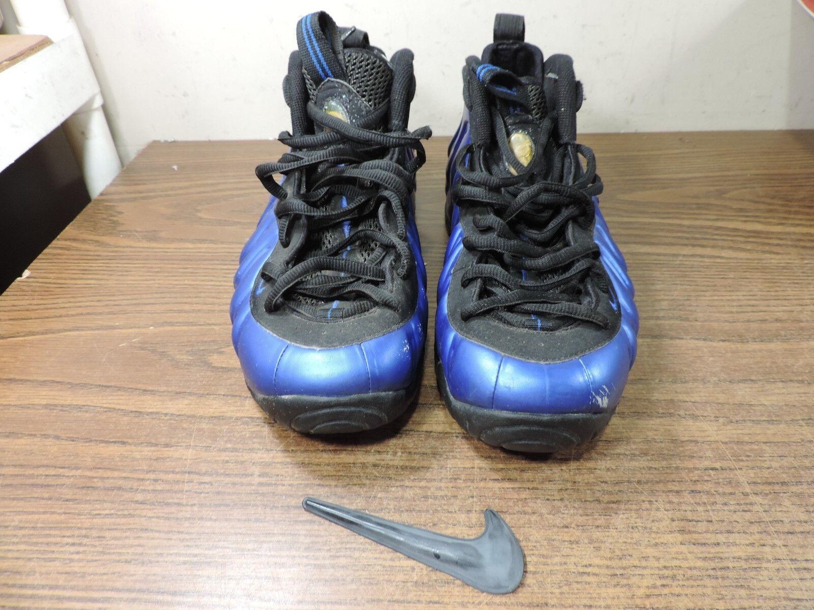 Nike® Foamposite Pro B Varsity Royal Black 624041-401 Size 11