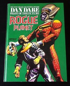 Dan-Dare-6-Rogue-Planet-compiled-by-Mike-Higgs-1992-Hardcover