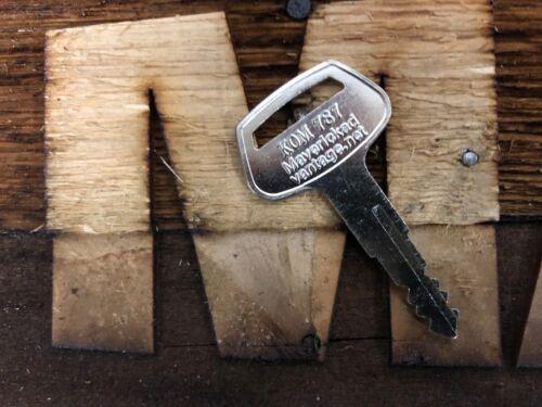 """Loader Dozer Backhoe Heavy Equipment 10 keys for Komatsu /""""787/"""" for Excavator"""