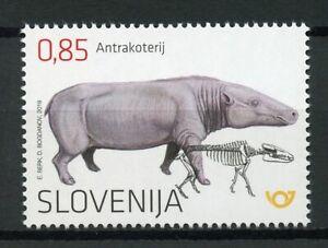 Slovenia-2019-MNH-Anthracothere-Oligocene-Prehistoric-Animals-1v-Set-Stamps