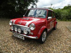 2000 Austin Rover Mini Cooper S Works Solar Red Signed Autographed