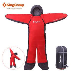 KingCamp-8-C-Sleeping-Bag-Adult-Walker-Suit-Warm-Outdoor-Camp-Compress-Bag-SML