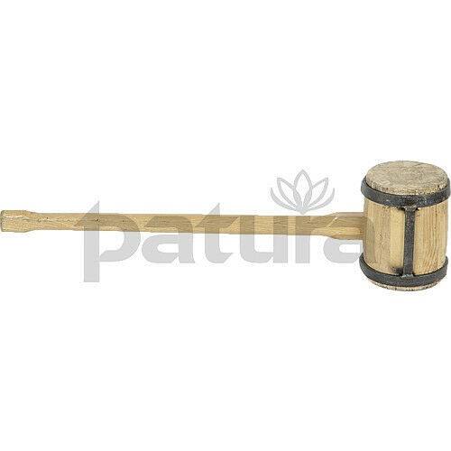 und Recyclingpfahl Kreuzprofil Holzhammer Patura Hammer für Holzpfosten