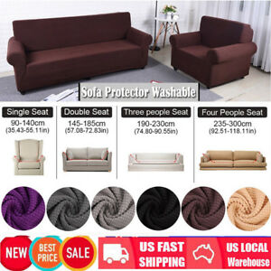Image Is Loading Easy Stretch Couch Sofa Lounge Covers Recliner 1