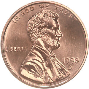 Lincoln Memorial Cent 1998 D