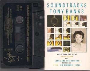 TONY-BANKS-Soundtracks-GENESIS-DIFFICULT-SPANISH-TAPE-SPAIN