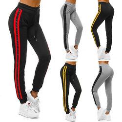 Trainingshose Sport Jogging Jogger Fitness Freizeit Hose Print Damen OZONEE