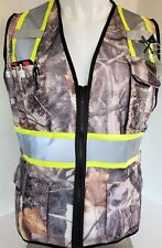 Fx High Visibility Reflective Camouflage Safety Vest