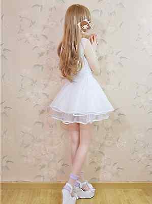 Japanese skirt Sweet Lolita Maid Princess Dress Vest dress Party Dress v-neck