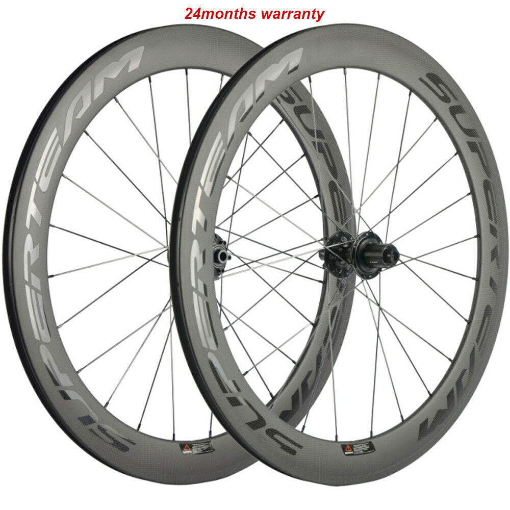 700C Disc Brake Carbon Wheels Superteam 60mm Road Cyclocross  Bicycle Wheels  to provide you with a pleasant online shopping