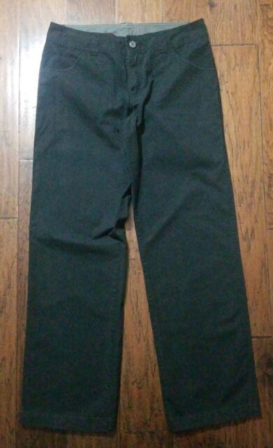 Womens Columbia Pants Cotton Black Sz 10 Inseam 31