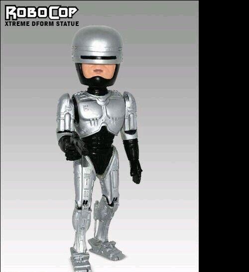 Estatua de RoboCop por Hollywood Coleccionables Raro 9  Polystone Altamente Detallado