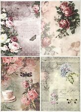 Rice Paper for Decoupage Decopatch Scrapbook Craft Sheet Lace on Fence