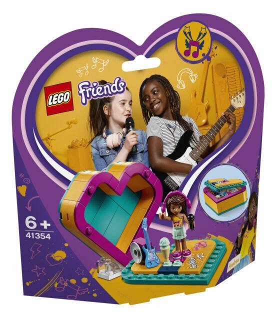 41354 Lego Friends Andrea/'s Heart Box Building Set NEW