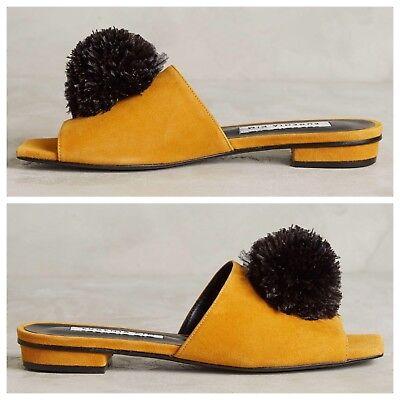 Pompom slides sliders sandals Made in Italy