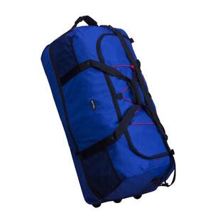 XXL-FALTBARE-Rollenreisetasche-Reisetasche-Rollreisetasche-1400g-140-L-cobalt
