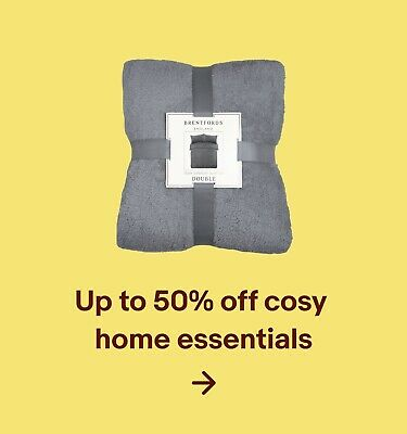 Up to 50% off cosy home essentials