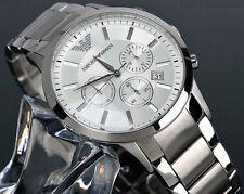 Brand New Authentic Emporio Armani AR2458 Brand New Silver Bracelet Men's Watch