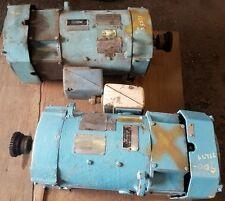10 Hp 17502300 Rpm 500 Volts Cd259at Ge Electro Flyte Dc Motors