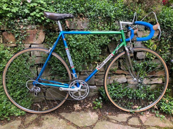 Accurato Benotto Bicicletta Da Corsa In Gios Look, Rh 58, Shimano 600, Vintage