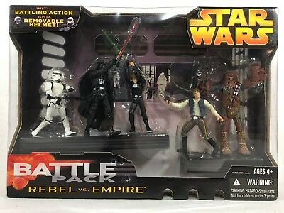 Star Wars BATTLEPACK REBEL VS EMPIRE Hasbro 85725