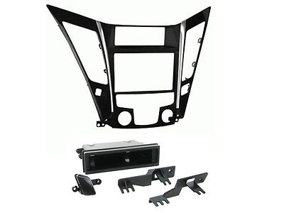 Connects2 CT23HY02 Black Double Din Fascia Adpator Kit for Hyundai DFP-31-06