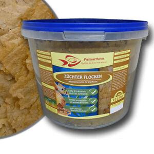 Zuechter-Flocken-mit-Spirulina-und-Artemia-10-L-Eimer-1-6-kg-Fischfutter-Futter