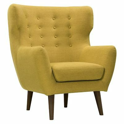 NEW Zanui Georg Curry High Back Armchair