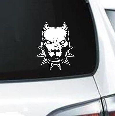 Pitbull Dad *H853* 8 inch Sticker decal dog apbt american bully pit bull leash