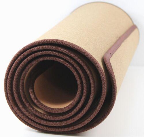 KORK GYMNASTIKMATTE Fitness Yoga Pilates Fitnessmatte SPORT 185x61 cm ~vds 669