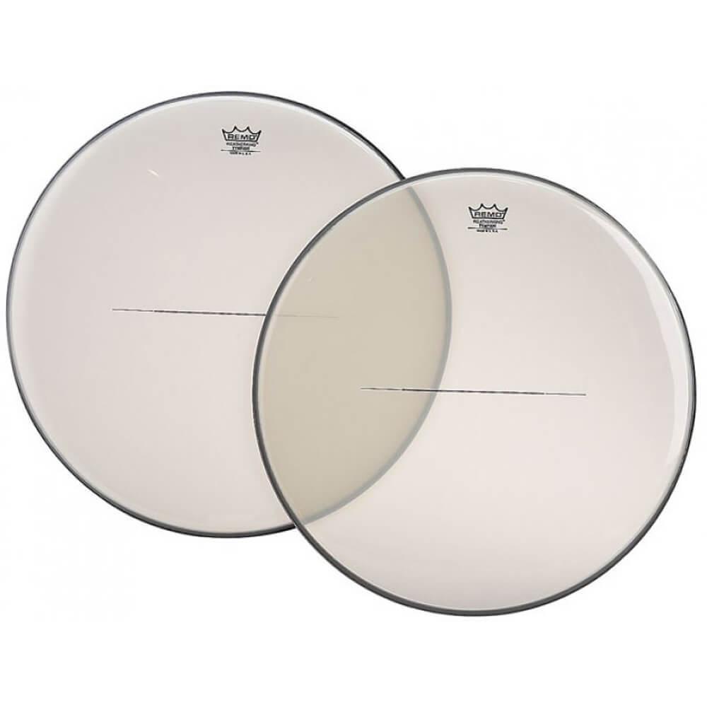 Remo TI-2900-00 TI-Series Hazy Timpani Drum Head, 29