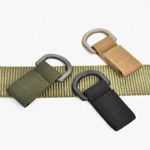 2Pcs-Carabiner-Belt-Buckle-Key-Hook-Webbing-Molle-Outdoor-Military-Hanging-Clips