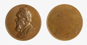 s1167-40-Camillo-Boito-1836-1914-Medaglia-1909-Opus-Johnson-MI-AE-67